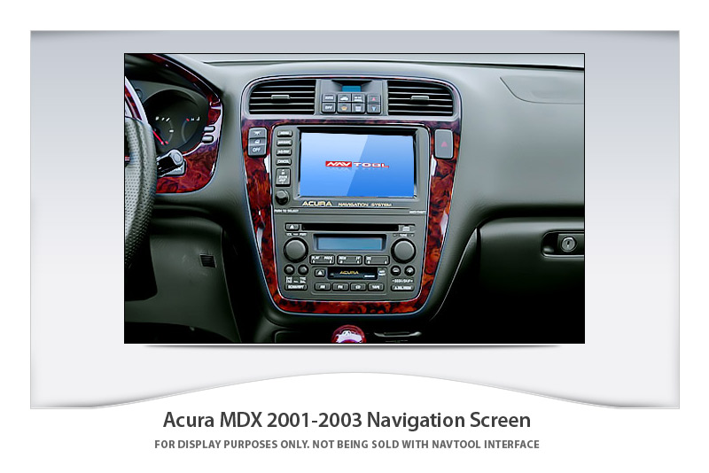ACURA MDX NAVIGATION VIDEO INTERFACE With BUILTIN HD - Acura navigation dvd