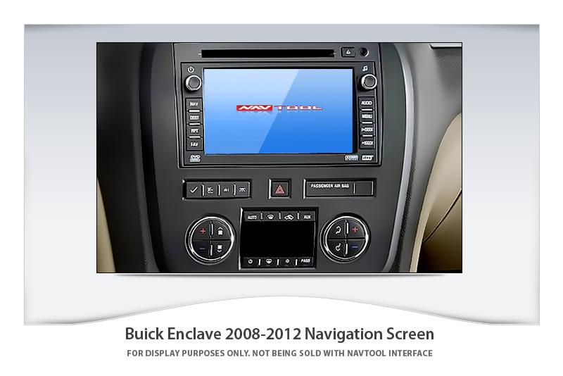 Buick Enclave 2008 2012 Navigation Video Interface