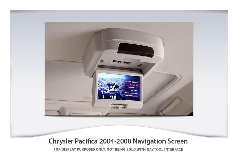 chrysler pacifica 2004 2008 navigation video interface. Black Bedroom Furniture Sets. Home Design Ideas
