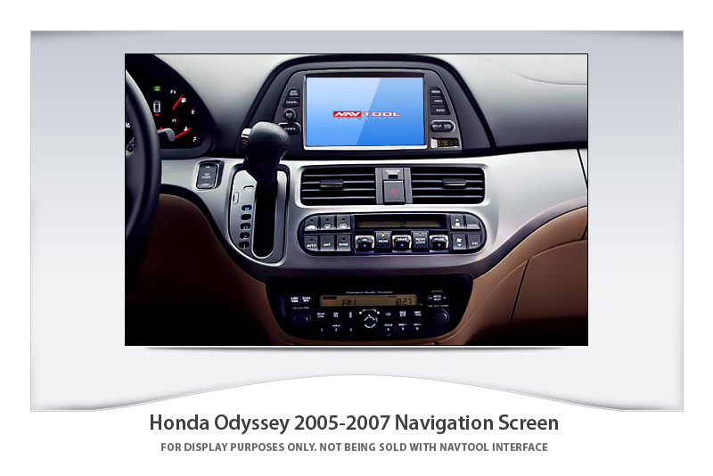 HondaOdyssey_2005.1 honda odyssey 2005 2007 navigation video interface with built in Wiring Harness Diagram at edmiracle.co