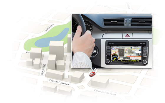 cadillac cts 2008-2015 navigation gps system add-on