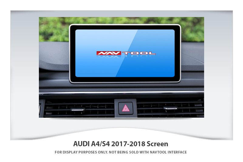 audi a4 s4 allroad 2017 2018 navigation video interface with built in hd smartphone mirroring. Black Bedroom Furniture Sets. Home Design Ideas