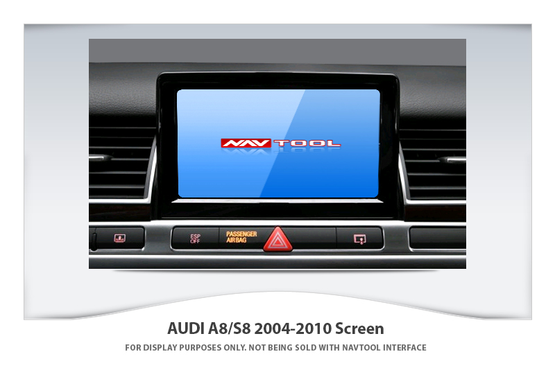 audi a8 s8 2004 2010 navigation video interface with built in hd smartphone mirroring via hdmi. Black Bedroom Furniture Sets. Home Design Ideas