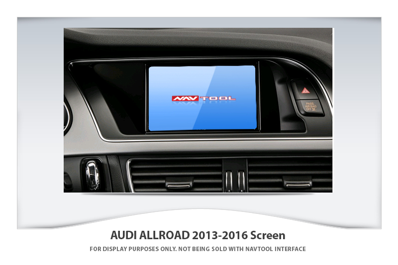 Audi Allroad 2013 2016 Navigation Video Interface With Built In Hd Smartphone Mirroring Via Hdmi