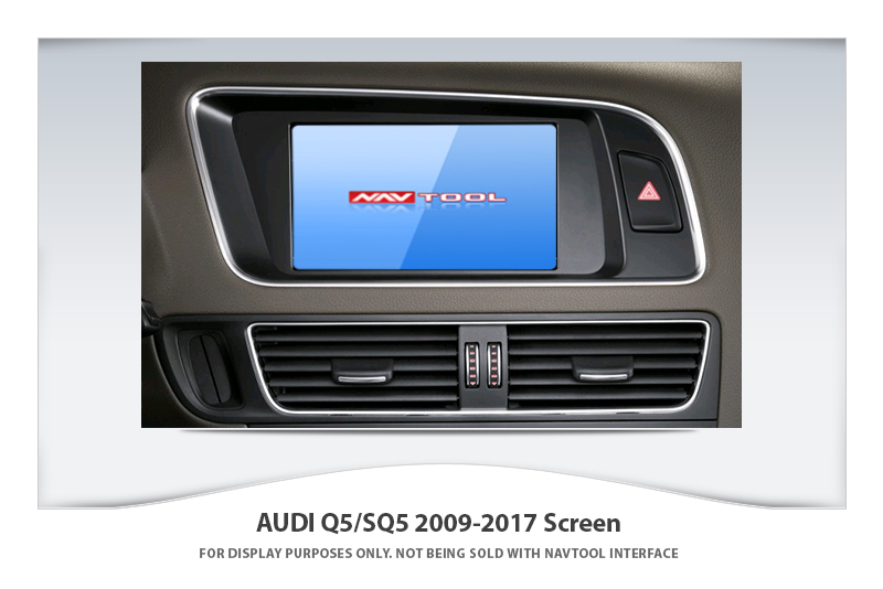 audi q5 sq5 2009 2017 navigation video interface with built in hd smartphone mirroring via hdmi. Black Bedroom Furniture Sets. Home Design Ideas