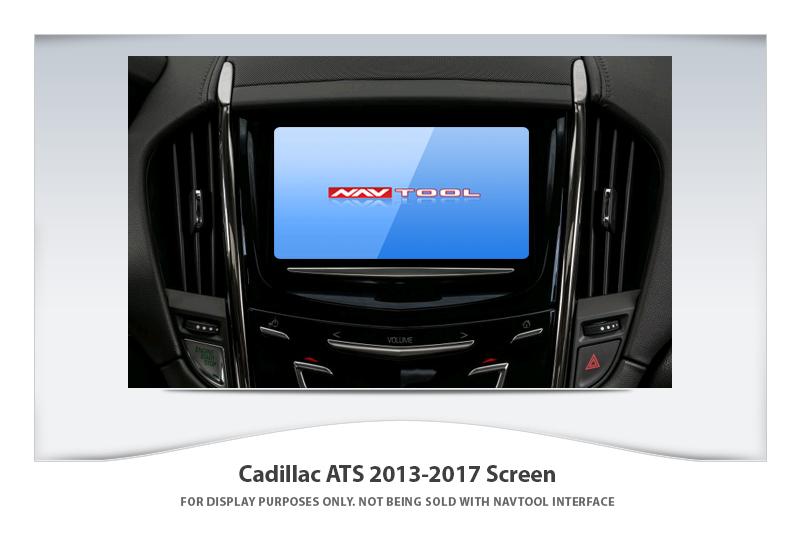 Cadillac Ats 2013 2017 Navigation Video Interface With