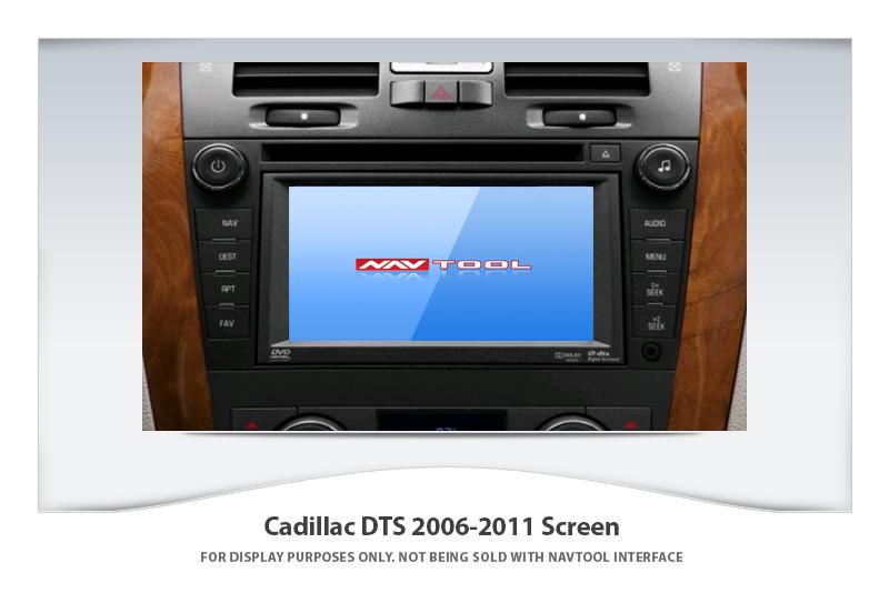 Cadillac Dts 2006 2011 Navigation Video Interface