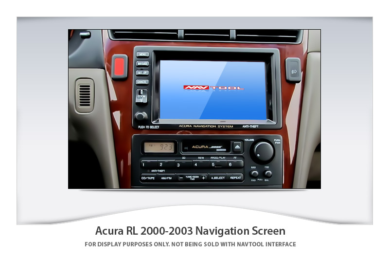 acura rl 2000 2003 navigation video interface with built. Black Bedroom Furniture Sets. Home Design Ideas