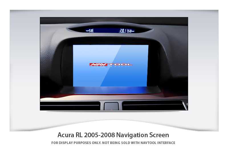 Rolls Royce Dealers >> ACURA RL 2005-2008 NAVIGATION VIDEO INTERFACE with BUILT-IN HD SMARTPHONE MIRRORING via HDMI