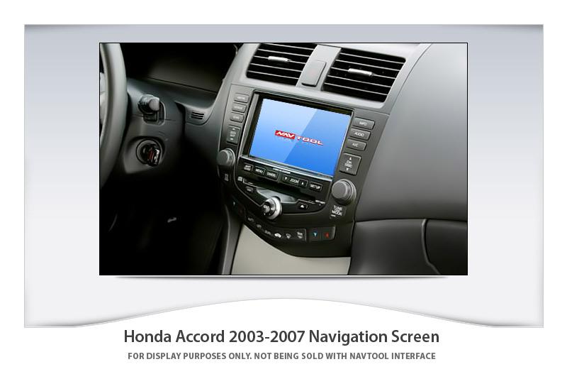 Honda Accord 2003 2007 Navigation Video Interface With