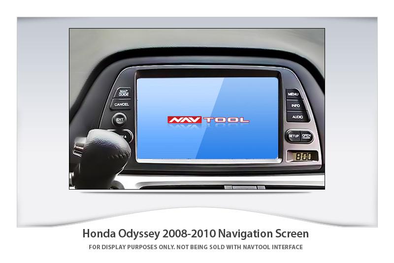 Hyundai Genesis Price >> HONDA ODYSSEY 2008-2010 NAVIGATION VIDEO INTERFACE