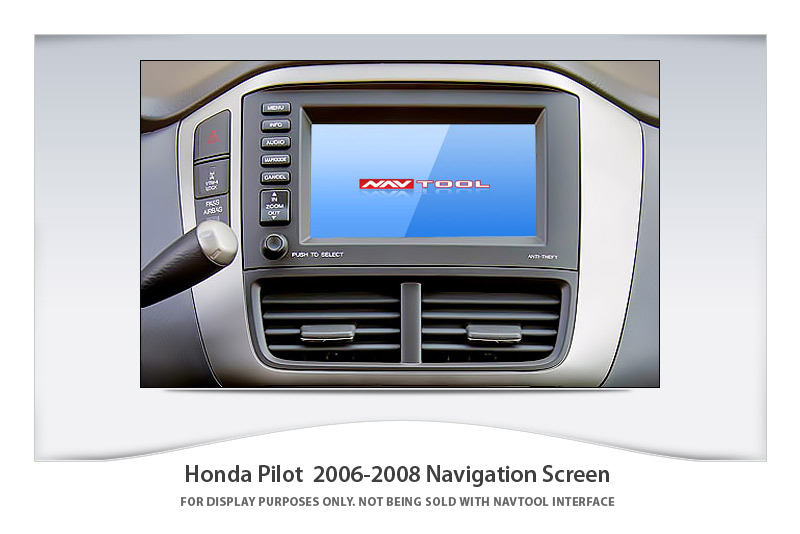 HONDA ODYSSEY 2005-2007 NAVIGATION VIDEO INTERFACE