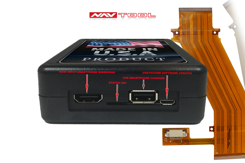 HONDA CR-V 2007-2011 NAVIGATION VIDEO INTERFACE with BUILT-IN HD SMARTPHONE MIRRORING via HDMI