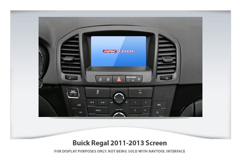 Buick Regal 2011 2013 Navigation Video Interface With