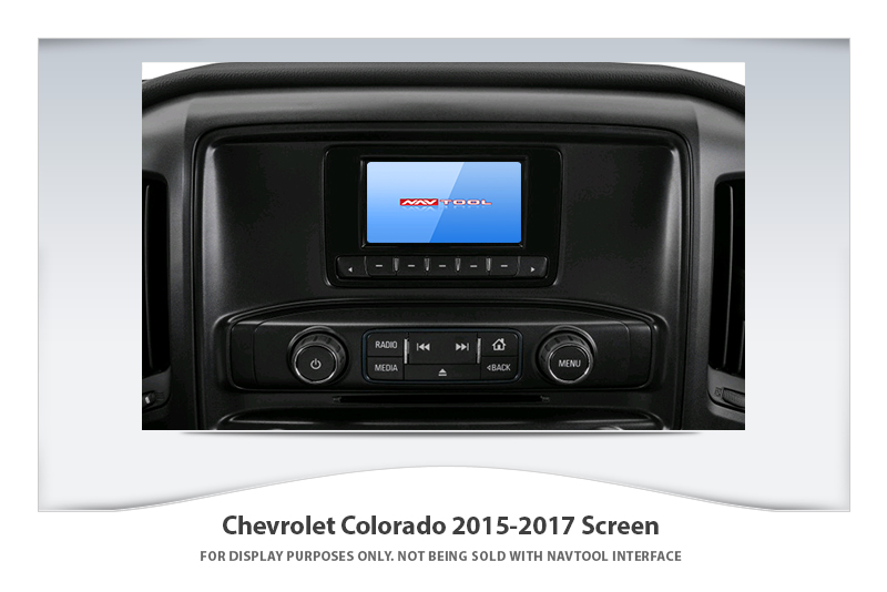 CHEVROLET COLORADO 2015-2017 NAVIGATION VIDEO INTERFACE with BUILT